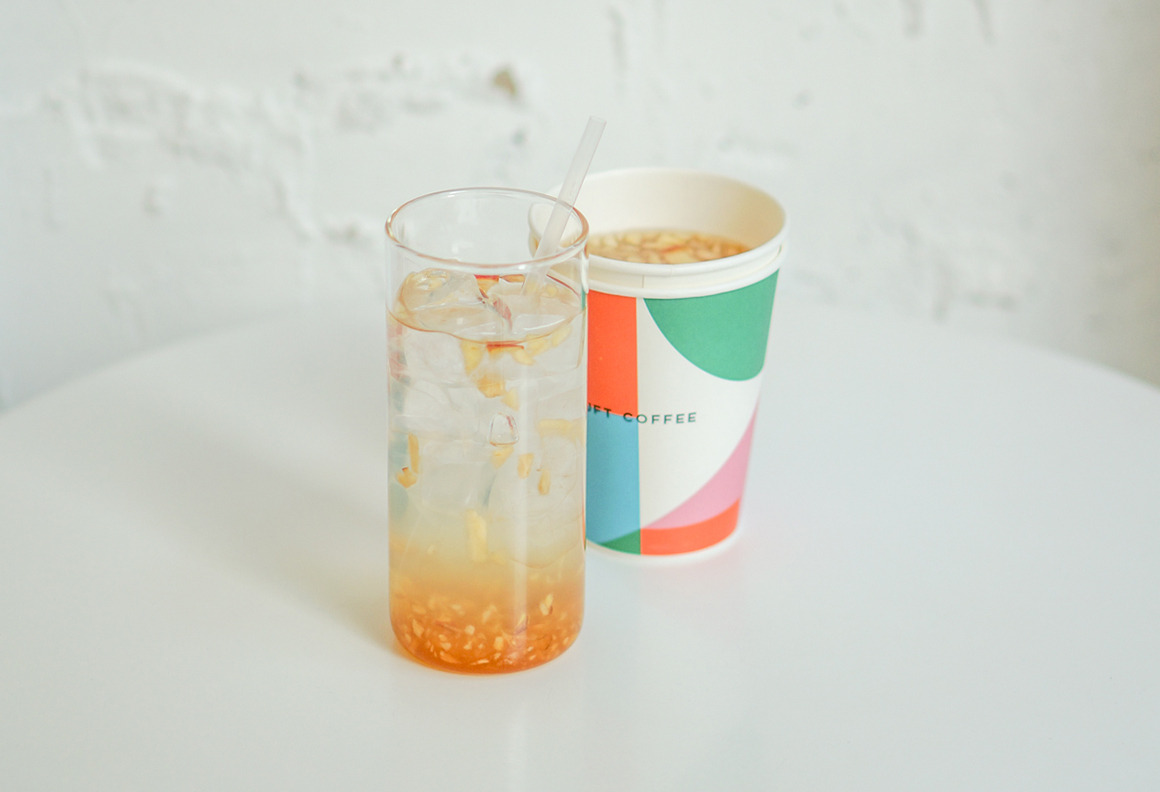 New :: Apple Ginger Tea
